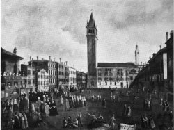 [historic image of campo Santa Margherita]